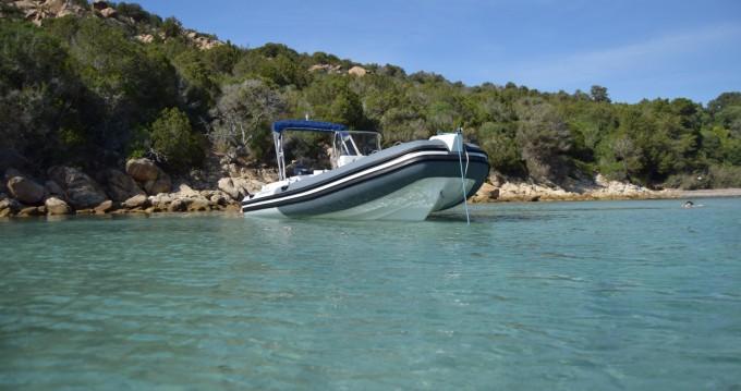 Verhuur Rubberboot in Ajaccio - Capelli Tempest 625