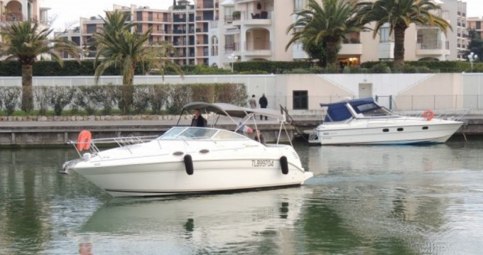 Verhuur Motorboot in Mandelieu-la-Napoule - Sea Ray Sea Ray 260 Sundancer