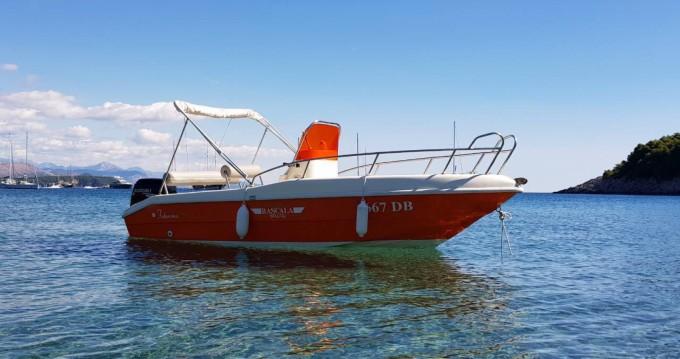 Verhuur Motorboot in Dubrovnik - Blu-Blu Rascala 17