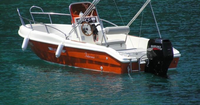 Verhuur Motorboot Blu-Blu met vaarbewijs