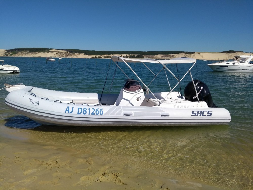 Verhuur Rubberboot in Lège-Cap-Ferret - Sacs Sacs S 640