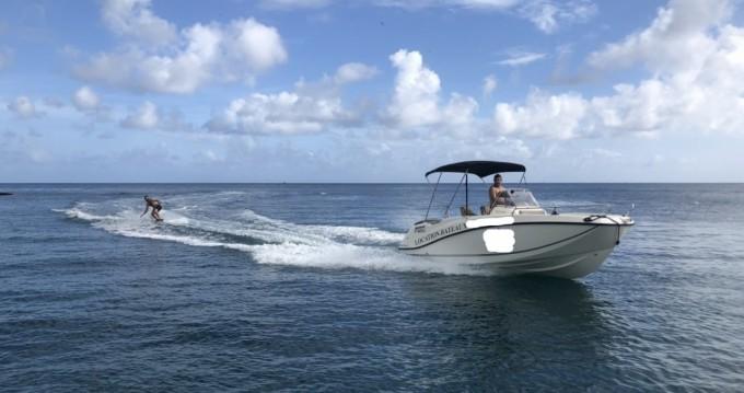 Huur Motorboot met of zonder schipper Quicksilver in Sainte-Anne