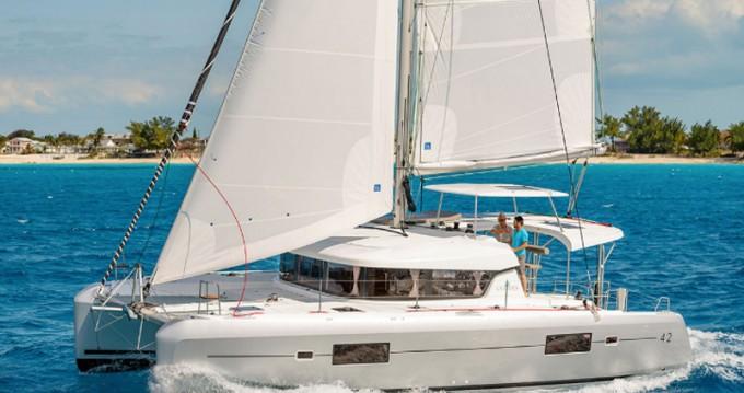 Lagoon Lagoon 42(GEN,AC,WATERMAKER) te huur van particulier of professional in Lávrio