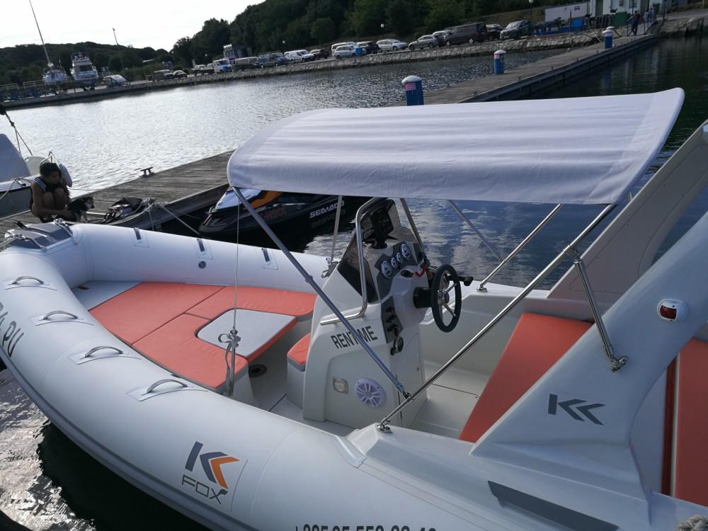 Verhuur Rubberboot Kardis met vaarbewijs