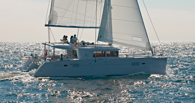 Verhuur Catamaran in Lávrio - Lagoon Lagoon 450 F