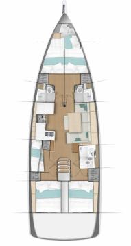 Jachthuur in Rhodes - Jeanneau Sun Odyssey 490 via SamBoat