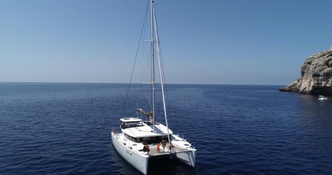 Verhuur Catamaran in Biograd na Moru - Lagoon Lagoon 450 Sport Top