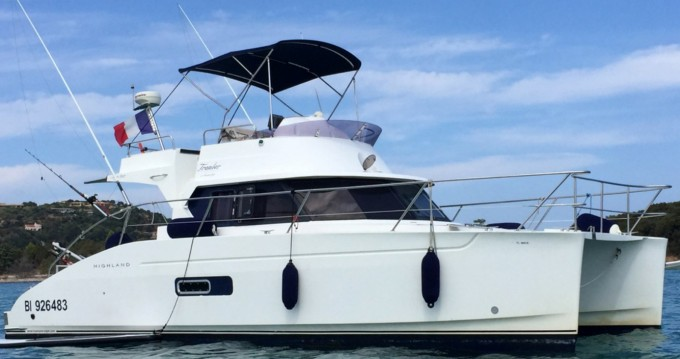 Fountaine Pajot Highland 35 te huur van particulier of professional in Saint-Florent