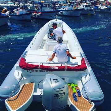 Huur Rubberboot met of zonder schipper Asso in Napels