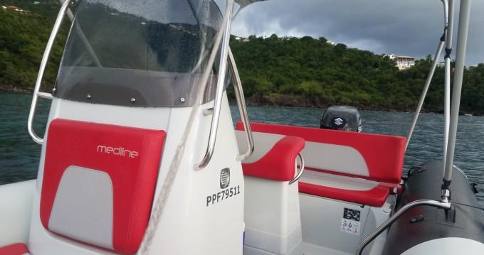 Huur Rubberboot met of zonder schipper Zodiac in Basse-Terre