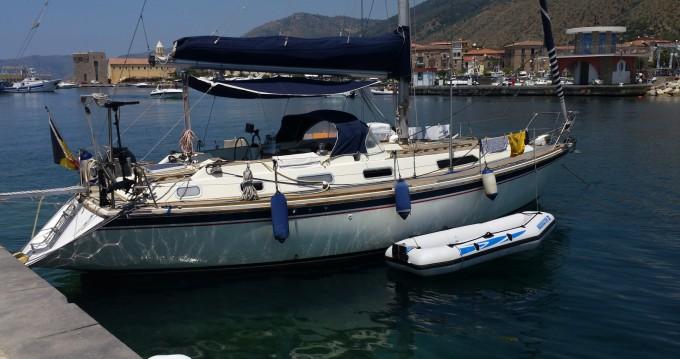 Huur een Westerly 38 Oceanranger in Marina di Grosseto