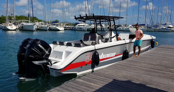 Huur Motorboot met of zonder schipper Abaco in Fort-de-France