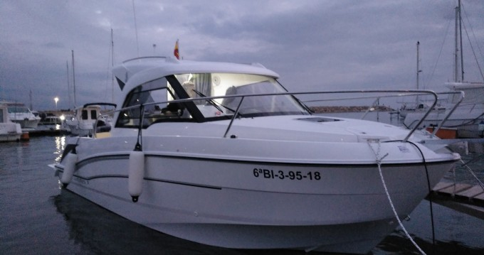Verhuur Motorboot in Vandellòs i l'Hospitalet de l'Infant - Bénéteau Antares 7