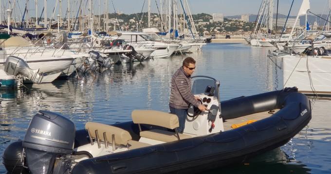 Bombard Explorer 640 SB te huur van particulier of professional in Marseille