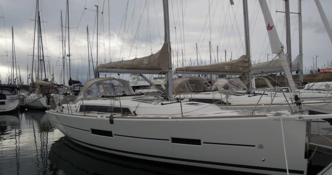 Bootverhuur La Trinité-sur-Mer goedkoop Dufour 382 Grand Large