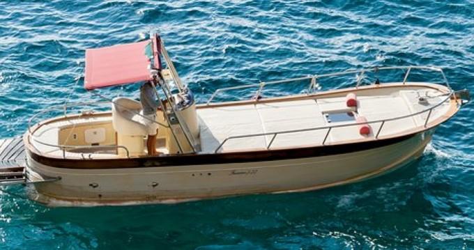 Huur Motorboot met of zonder schipper Ferretti in Positano
