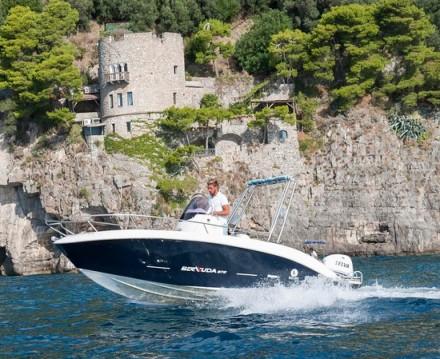 Huur Motorboot met of zonder schipper Romar in Positano