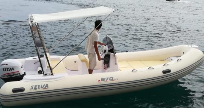 Rubberboot te huur in Positano voor de beste prijs