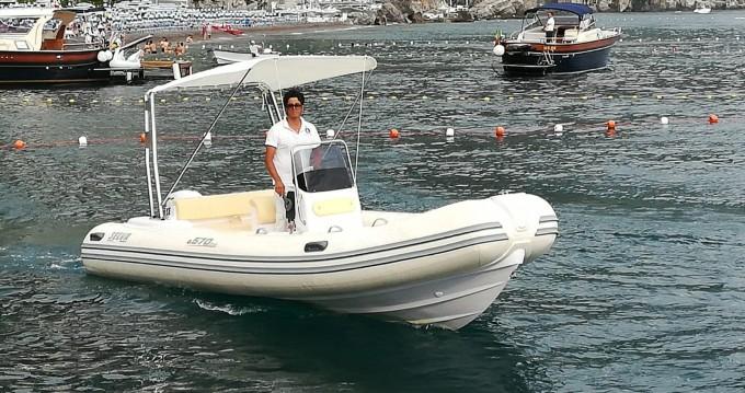 Verhuur Rubberboot in Positano - Selva predator