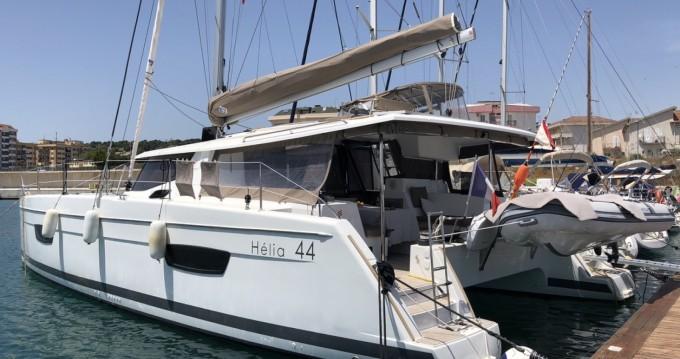 Verhuur Catamaran in Ajaccio - Fountaine Pajot Helia 44
