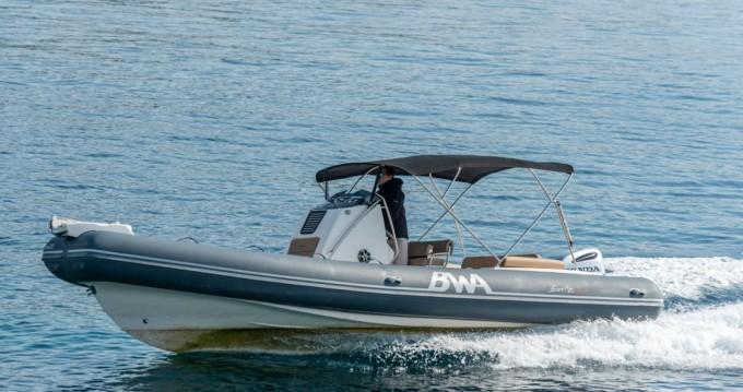 Huur Rubberboot met of zonder schipper Bwa in Trogir