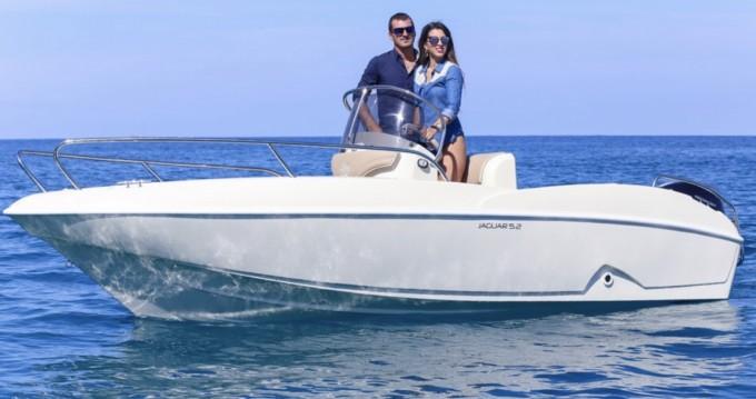 Verhuur Motorboot in Tropea - Ta.ma.re Jaguar 5.50