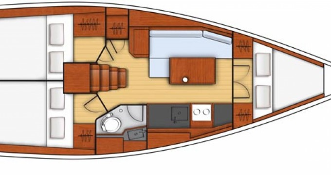 Bootverhuur Bénéteau Oceanis 35.1 in La Rochelle via SamBoat