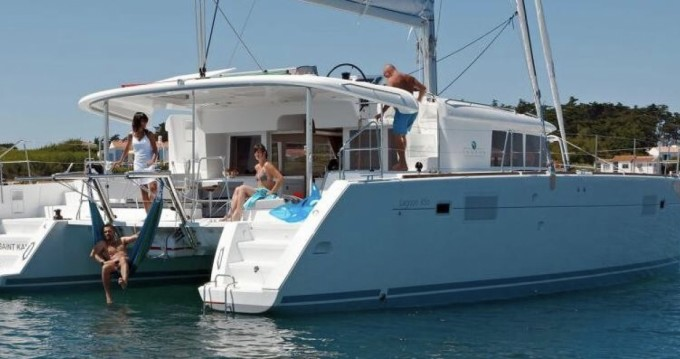 Verhuur Catamaran in San Salvo Marina - Lagoon Lagoon 450