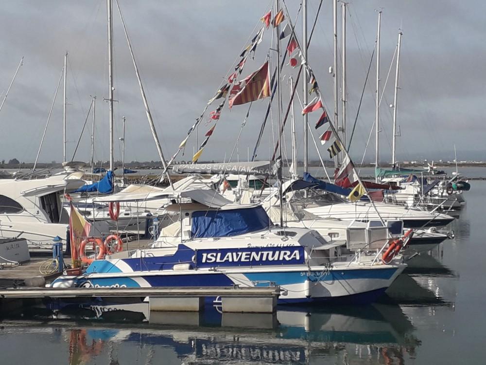 Huur Catamaran met of zonder schipper Catala-catamarans in Isla Cristina