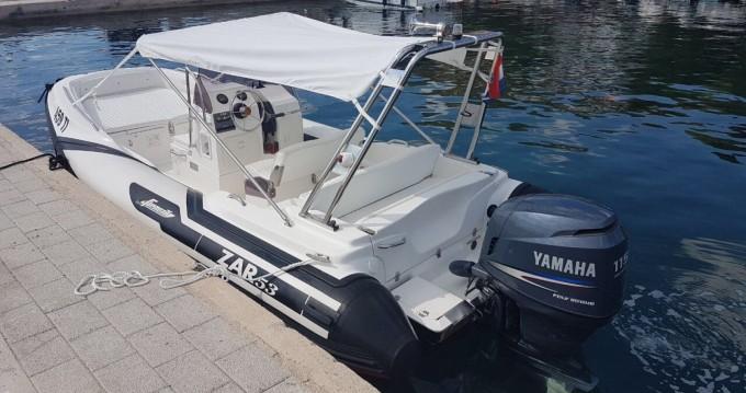Verhuur Rubberboot in Tisno - Zar Zar 53