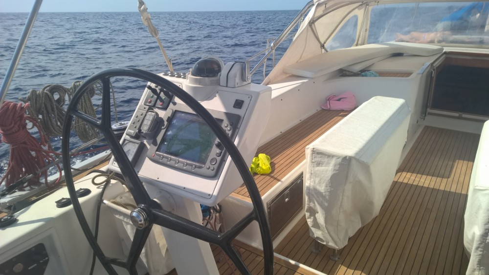 Verhuur Zeilboot in Cogolin - Hanse Hanse 630 E