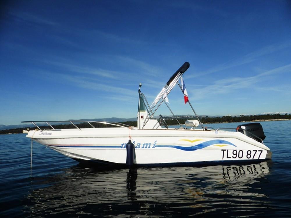 Verhuur Motorboot in Mandelieu-la-Napoule - MASSIMO SCAGNELLI MIAMI 18 SF
