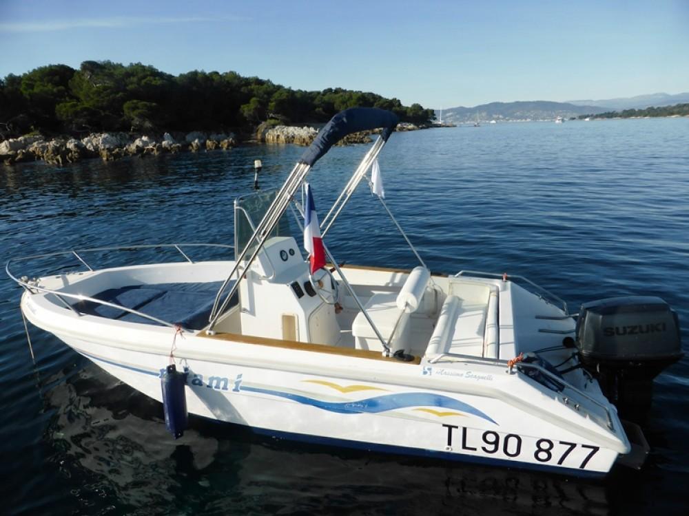 Bootverhuur MASSIMO SCAGNELLI MIAMI 18 SF in Mandelieu-la-Napoule via SamBoat
