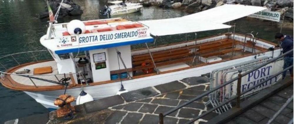 Cantiere Mileo 45 piedi te huur van particulier of professional in Amalfi