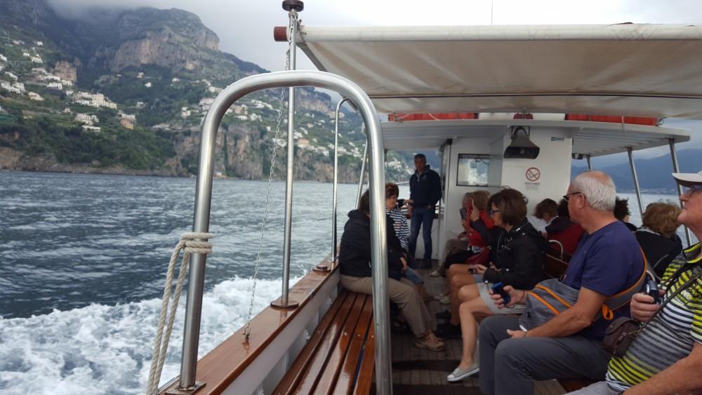Verhuur Motorboot in Amalfi - Cantiere Mileo 45 piedi