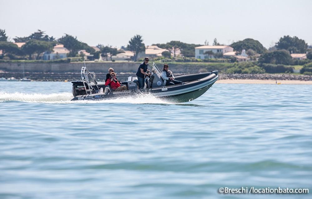 Huur Rubberboot met of zonder schipper Falcon in La Rochelle