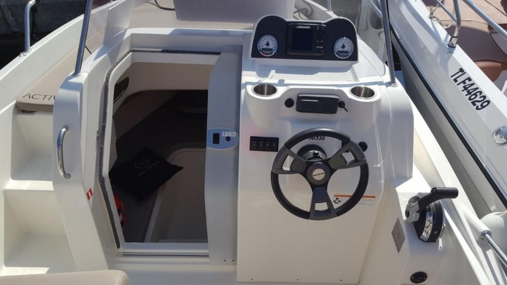 Verhuur Motorboot in Fréjus - Quicksilver Quicksilver 605 Sundeck