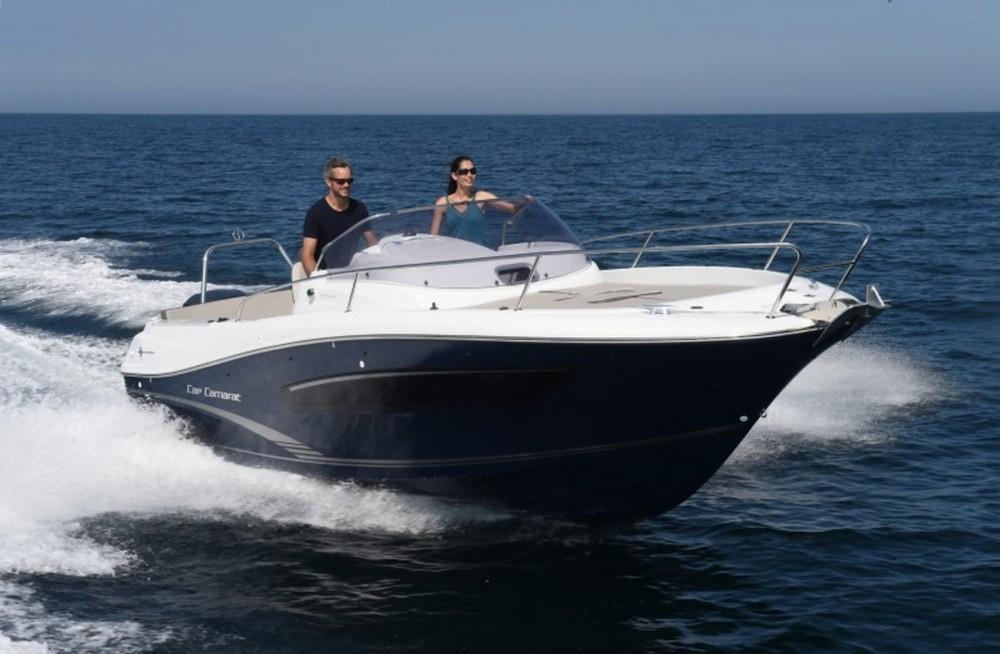 Huur Motorboot met of zonder schipper Jeanneau in Fréjus
