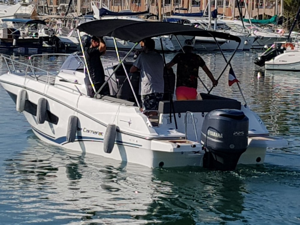 Verhuur Motorboot in Fréjus - Jeanneau Cap Camarat 7.5 WA