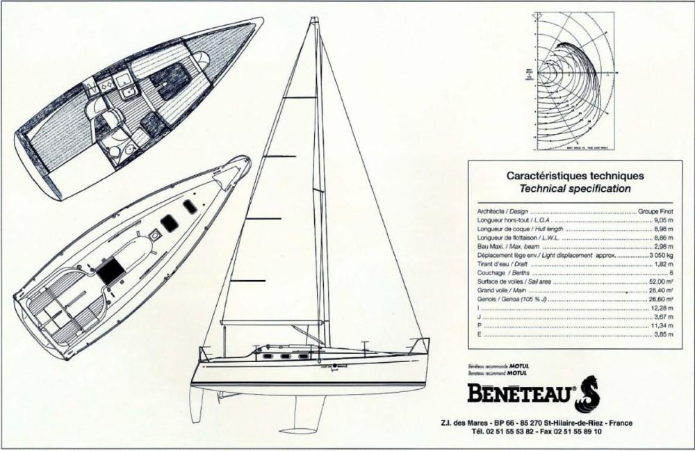 Bénéteau First 300 Spirit te huur van particulier of professional in Martigues