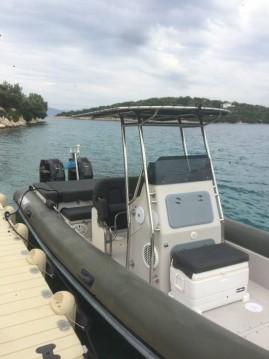 Verhuur Rubberboot Scorpion 860 met vaarbewijs