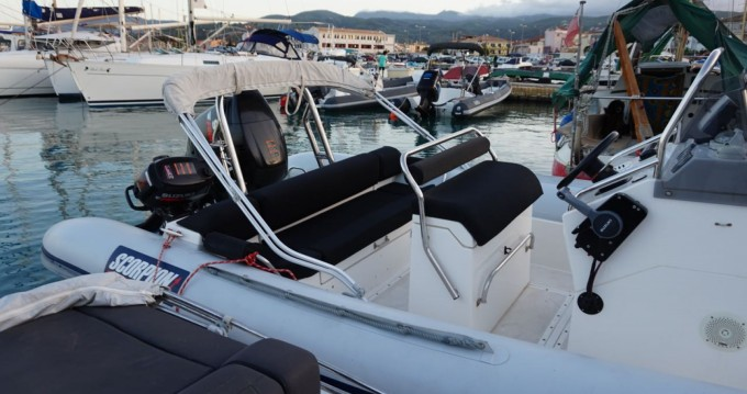 Verhuur Rubberboot in Lefkas Egremni - Scorpion 740