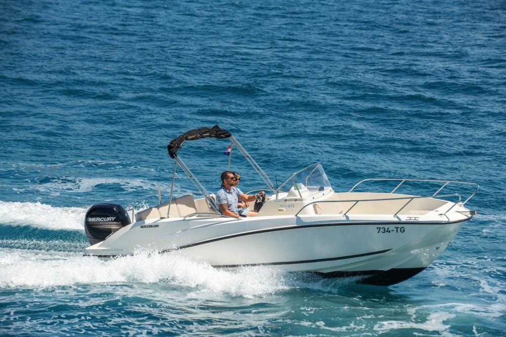 Verhuur Motorboot in Trogir - Quicksilver Quicksilver 675 Activ Open