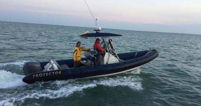 Bootverhuur La Rochelle goedkoop PROTECTOR 850