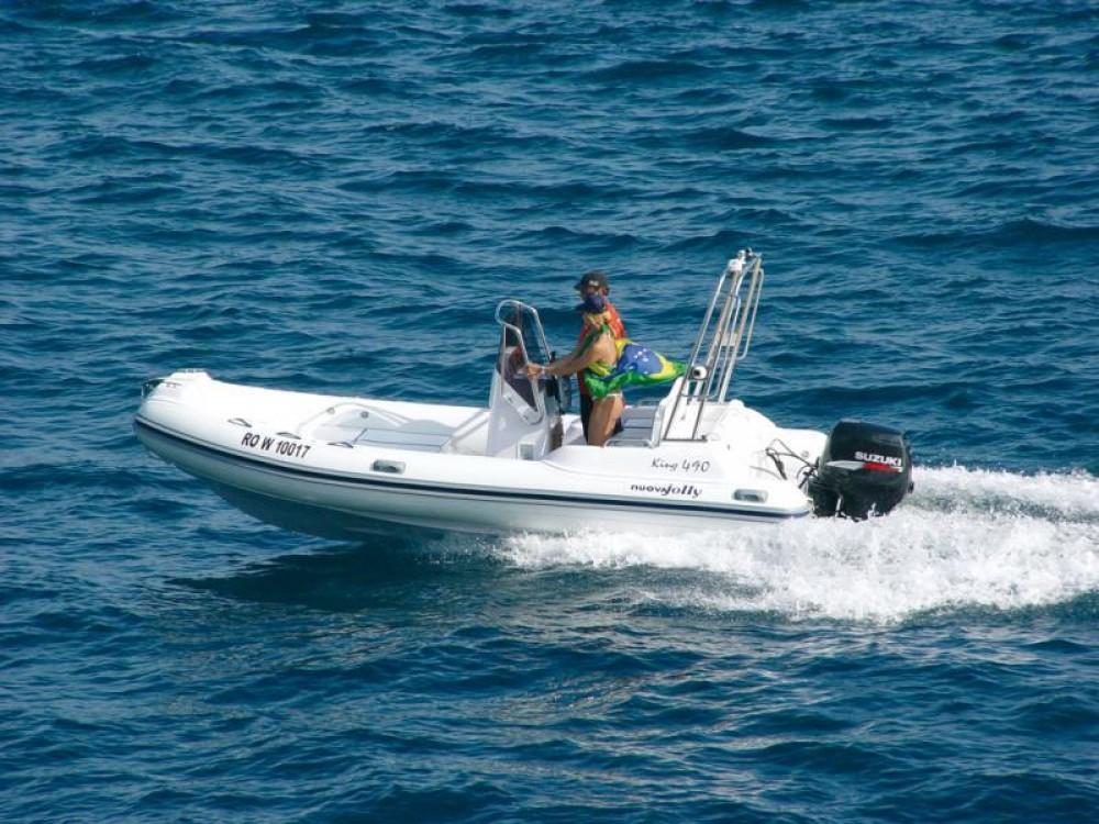 Verhuur Rubberboot in Cres - Nuova Jolly King 490