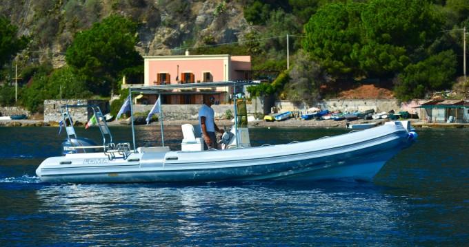 Verhuur Rubberboot Lomac met vaarbewijs