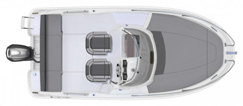 Verhuur Jacht in Ibiza - Jeanneau Cap Camarat 650