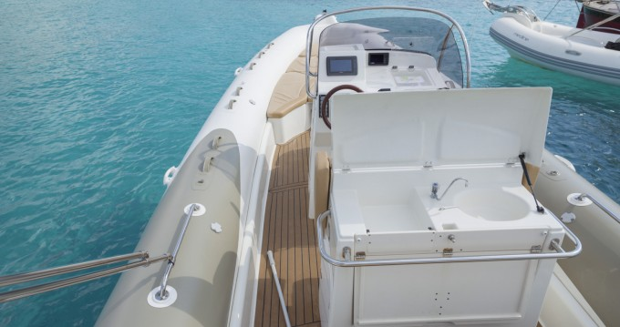 Verhuur Rubberboot in Formentera - Zodiac Medline III