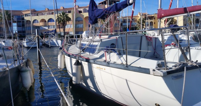 Verhuur Zeilboot in Leucate - Dufour Dufour 31