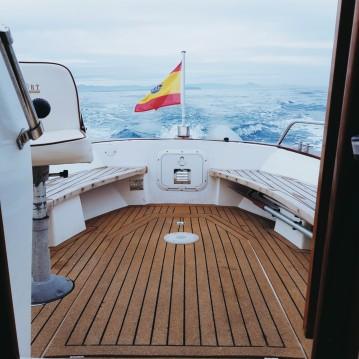Verhuur Motorboot Knort met vaarbewijs